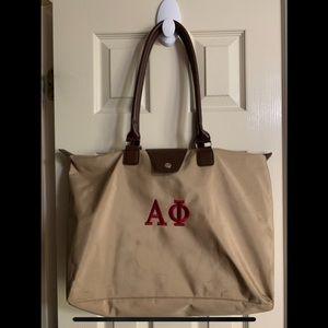 Alpha Phi Longchamp Overnight Bag